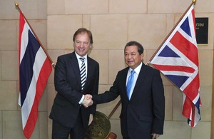 Joint Press Release for the First Session of the Thailand-United Kingdom Strategic Dialogue