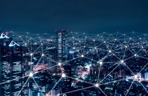 5G networks across a city