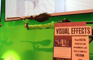A visual effects studio used in the making of the Harry Potter films.