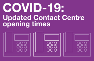 Image of Update to Contact Centre opening hours