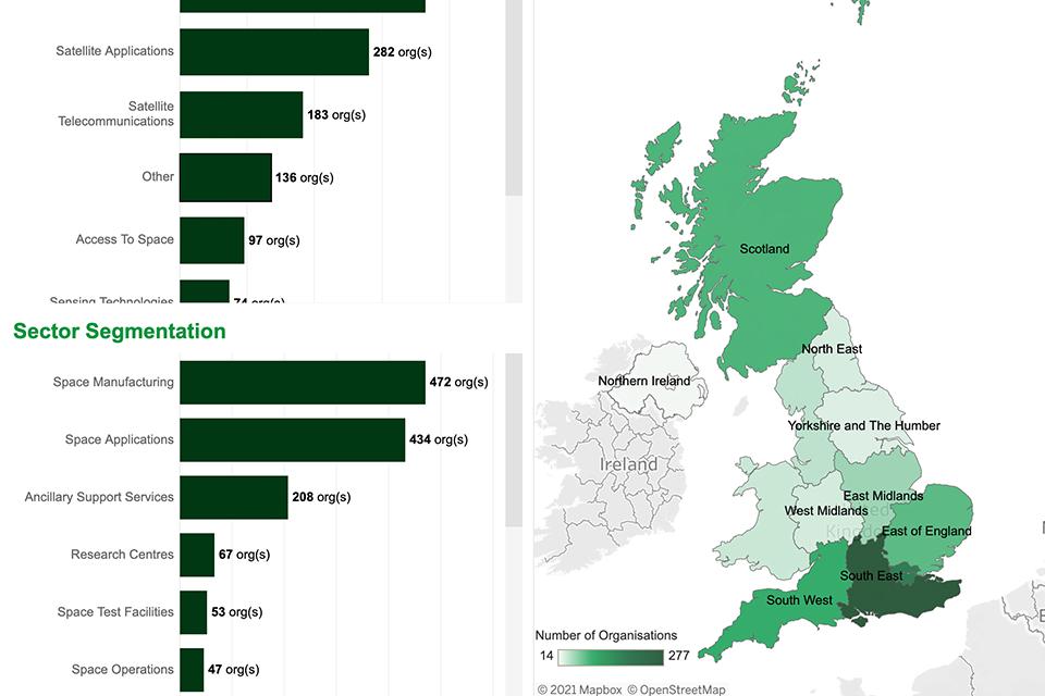 - ktn gov uk 2 - KTN and UK Space Agency launch UK Space Sector Landscape Map