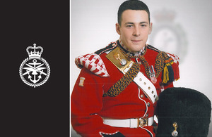 Drummer Lee Rigby [Picture: via MOD]