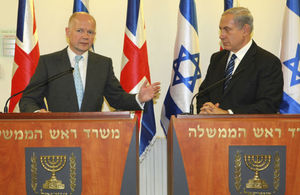 Foreign Secretary and Prime Minister Netanyahu