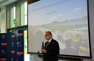 Poland's Deputy Transport, Construction and Maritime Economy Minister Andrzej Massel