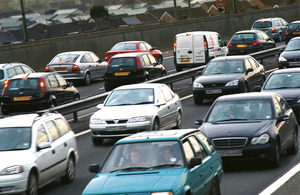 Image of cars on motorway