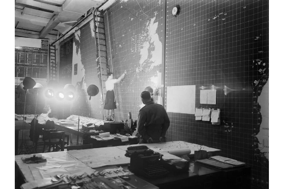 The Operations Room at Derby House in Liverpool