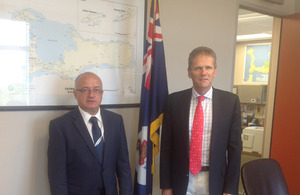 Mario Galea meets Governor