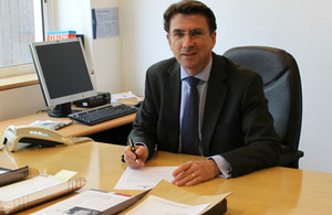 British Ambassador to Bahrain Iain Lindsay