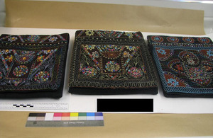 Cloth packets used by Hussain to smuggle heroin into the UK