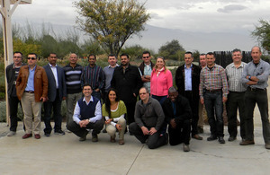 RCDS members visiting Chile