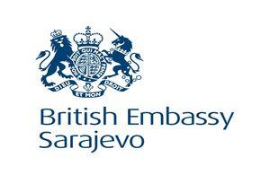 British Embassy Sarajevo logo