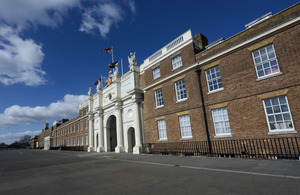 Royal Artillery Barracks in Woolwich