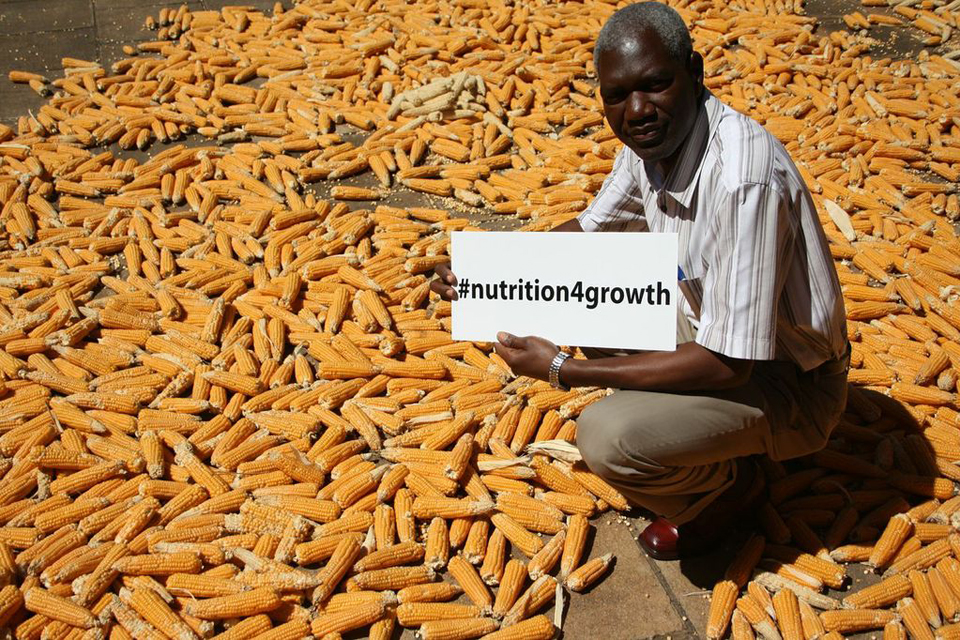 Follow updates on Twitter #nutrition4growth. Picture: HarvestPlus