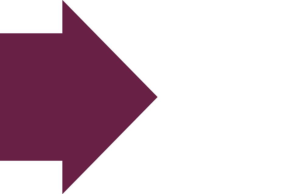 A purple arrow