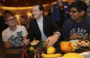 Chancellor attends 'Make Things Do Stuff' campaign launch