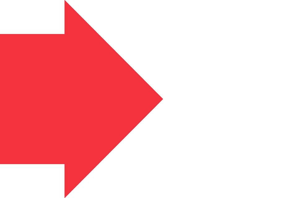 A red arrow