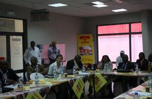 Participants in the 3Ts seminar