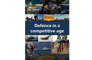 Defence Command Paper front cover.