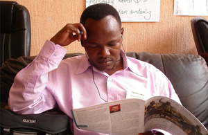New Agriculturist magazine being read in Tanzania