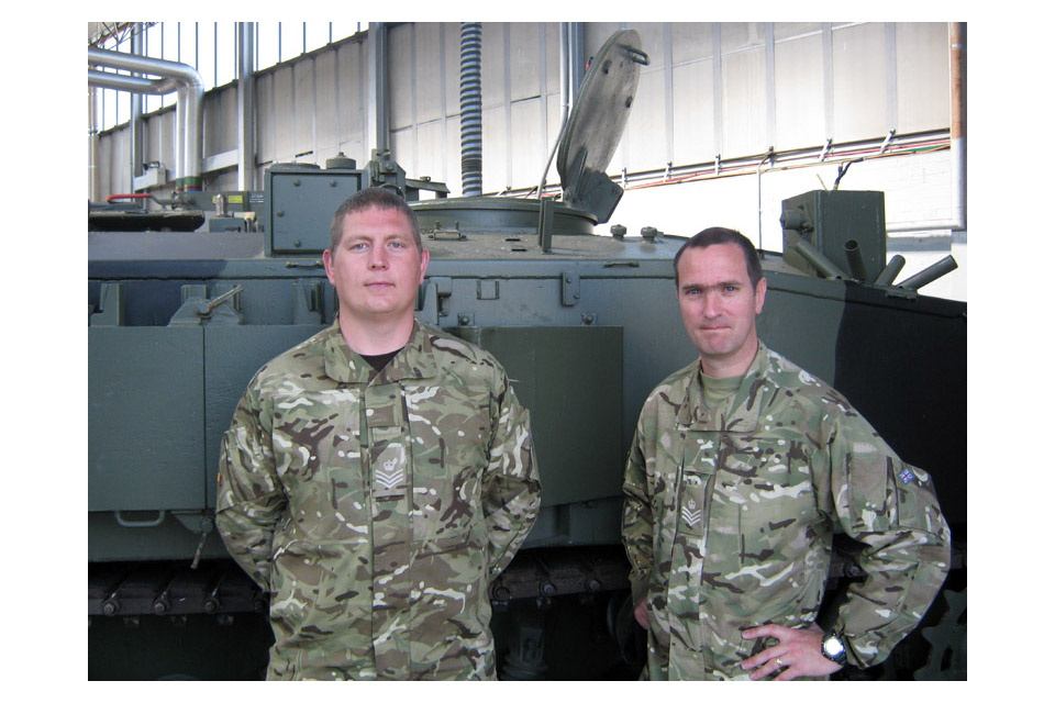 Staff Sergeants Andy Laurie and Marc Smith