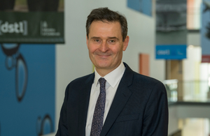 Doug Umbers, interim chief executive Dstl
