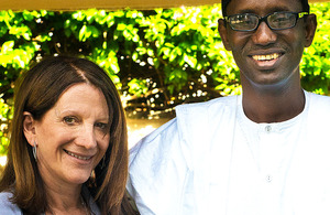 UK DFID Minister for Africa, Lynne Featherstone meets Nuhu Ribadu