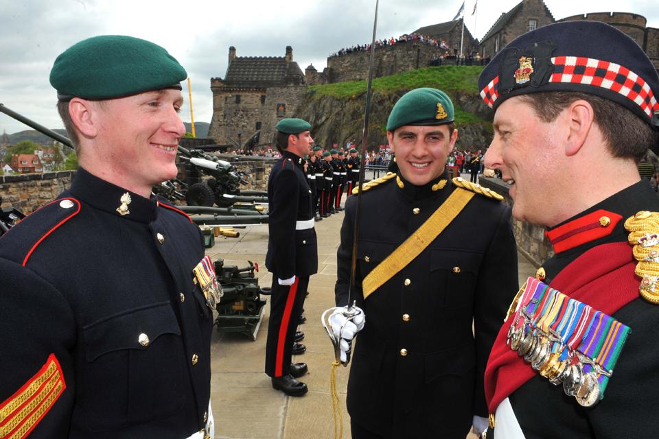 From left: Sergeant Steve Bailey, Lieutenant Janeak Skzoda and Brigadier Paul Harkness