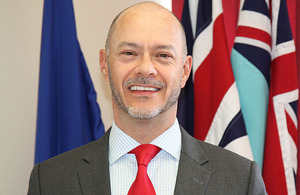 Steven Chandler, Acting British High Commission to Fiji, Kiribati, Nauru, Tonga and Tuvalu