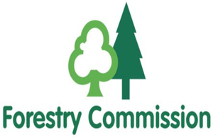 Forestry Commission logo.