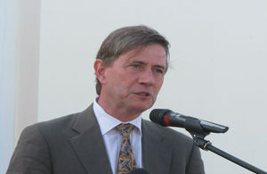 Turks and Caicos Islands' Governor Ric Todd.