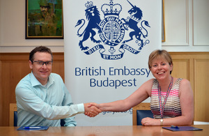 British embassy supports first Hungarian sign language film series