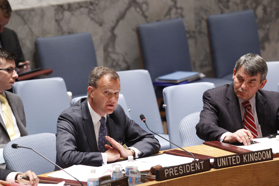 Security Council Meeting: The situation in Somalia  Report of the Secretary-General on Somalia