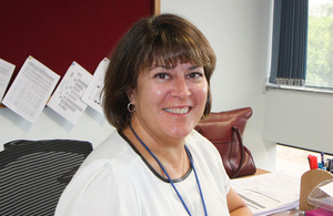UK Regional Manager for Visas and Immigration, Mandy Ivemy,