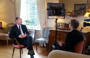 Admiral Morisetti interviewed by NRK