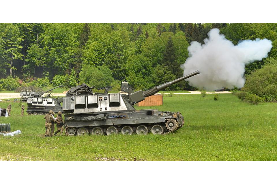AS90 self-propelled gun