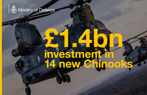 An image of Chinooks