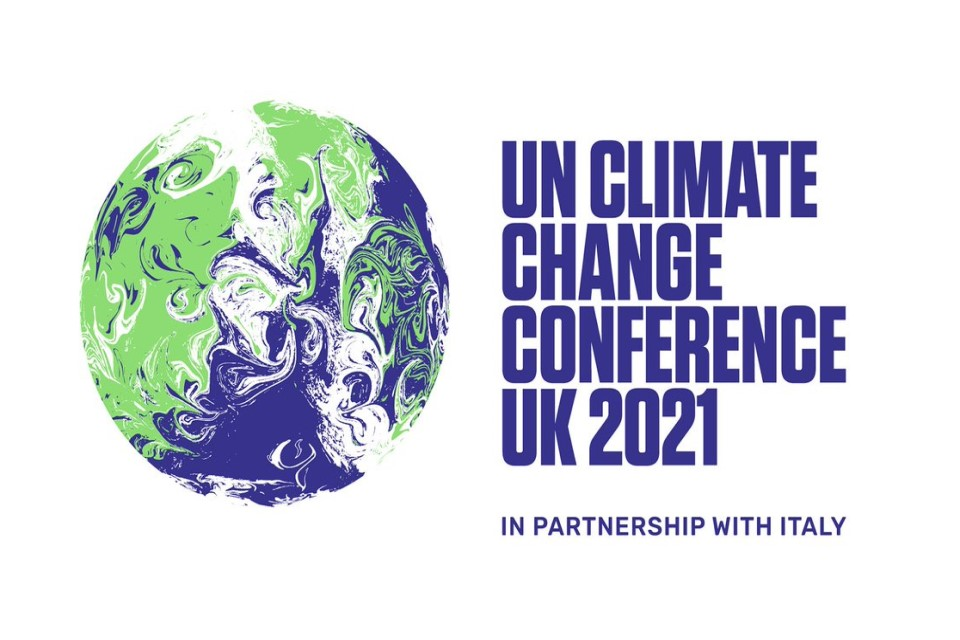 COP26 Logo with an abstract Earth   - COP26 Logo New  1  - The UK Space Agency and COP26