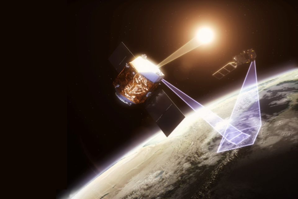 Artist impression of TRUTHS mission   - TRuths image 960 - The UK Space Agency and COP26