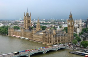 Houses of Parliament aerial image