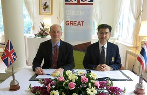 UK Funds Thailand's Solar Photovoltaics Consortium & Roadmap Development