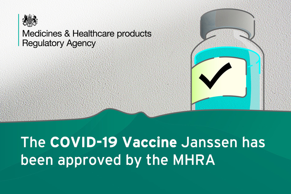 One-dose Janssen COVID-19 vaccine approved by the MHRA