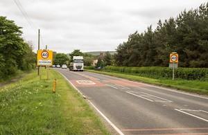 Sherburn village gateway