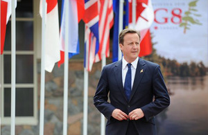 Il Primo Ministro David Cameron