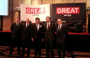 UK Trade & Investment Minister visits Thailand to support bilateral trade and investment