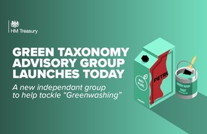 Green taxonomy advisory group launches today