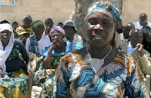 Cecilia and her women farmers' group are learning to adapt to climate change