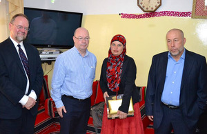 Minister Burt visting Nabi Saleh