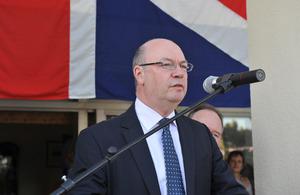 Minister Burt