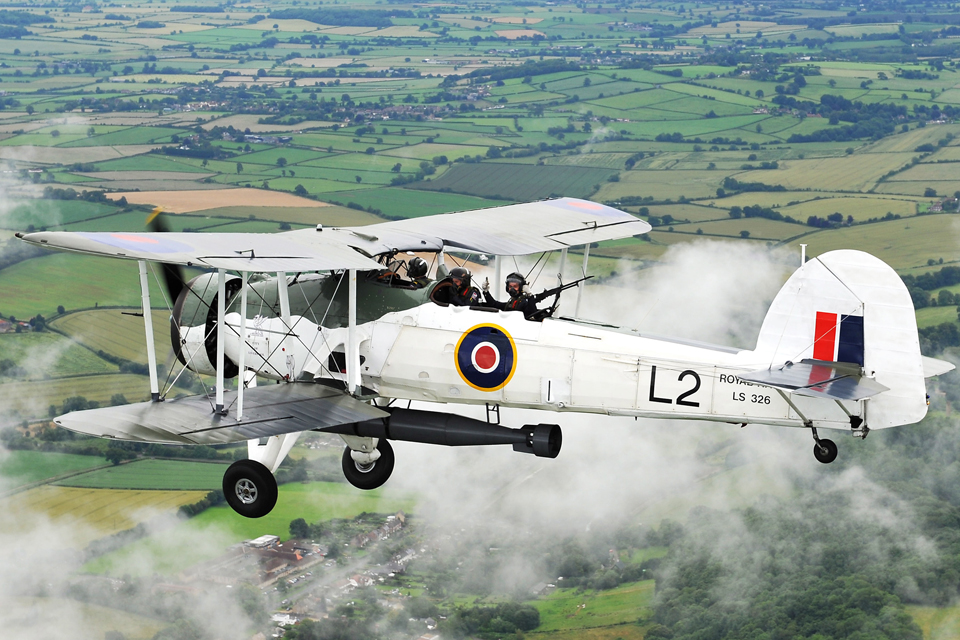 Royal Navy Historic Flight Swordfish aircraft