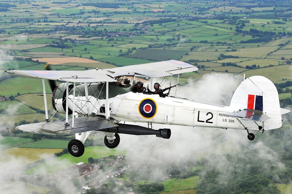 Royal Navy Historic Flight Swordfish aircraft